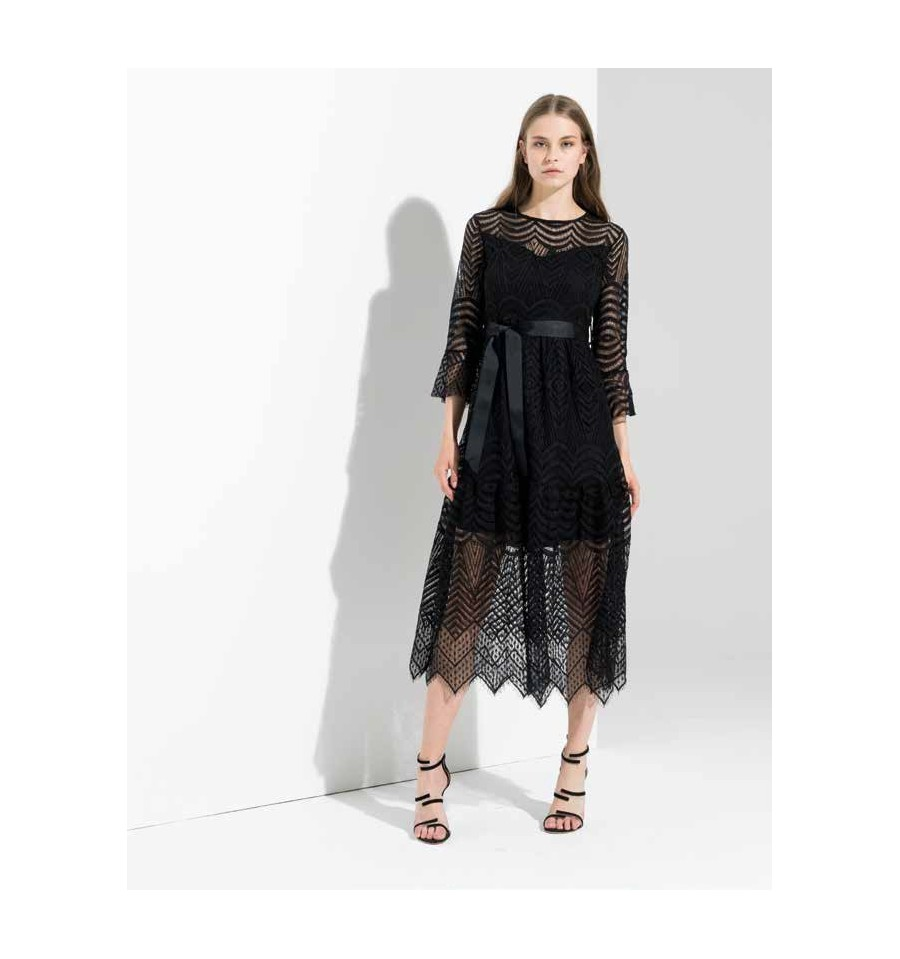 Lace Dress Fracomina - Vestiti Firmati Life Smiles 6ccf5695b84