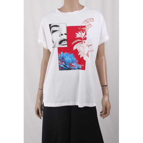 T-Shirt Con Stampa Le Coeur Twinset