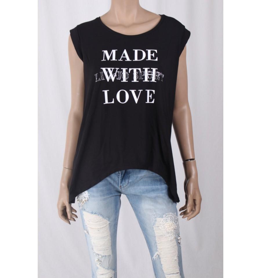 T-Shirt Con Stampa E Applicazioni Liu Jo - Vestiti Firmati Life Smiles 3f6b78e96f1