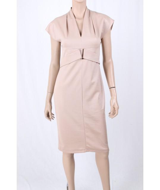 Gown With V-Neckline Sandro Ferrone
