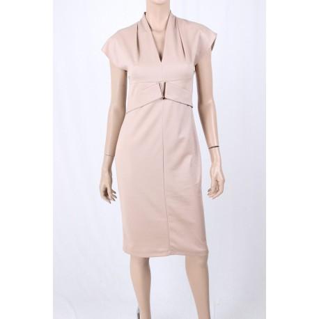 Gown With V-Neckline, Sandro Ferrone