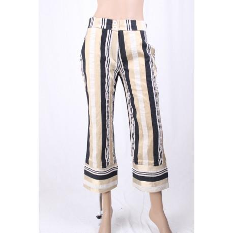 Pantalon Crop Allée Bordée D'Exercices