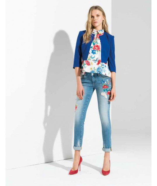 Jeans With Applications Fracomina