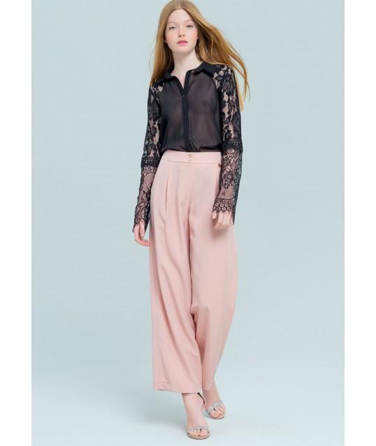 Baggy Pantalon Rose Fracomina