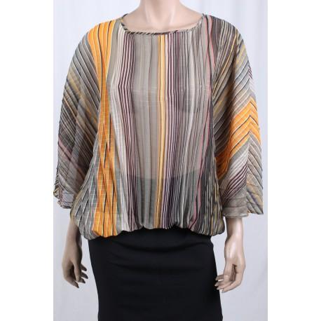 Chemise Kimono Avec Une Ligne Sfalzata Sandro Ferrone
