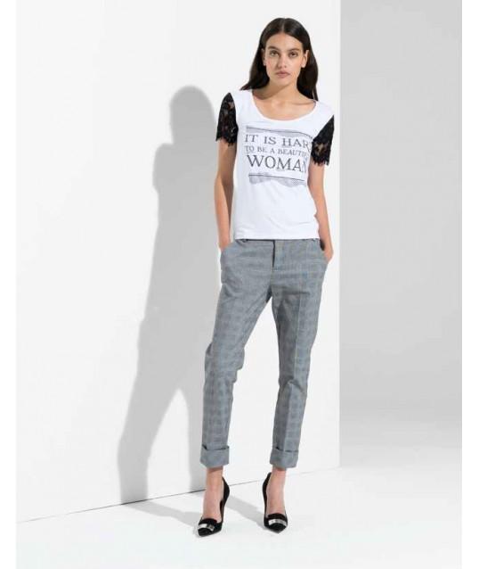 T-shirt With Print Fracomina