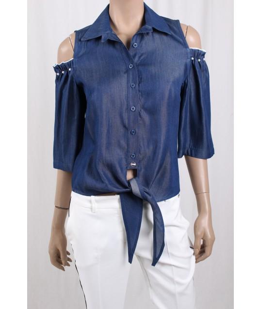 Camicia In Jeans Ironica