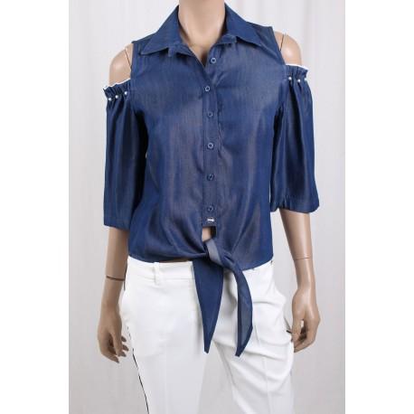 Camicia Di Jeans Ironica