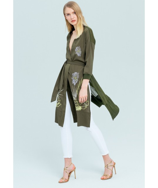 Long Jacket Fracomina