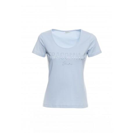 T-shirt Avec le Logo Fracomina