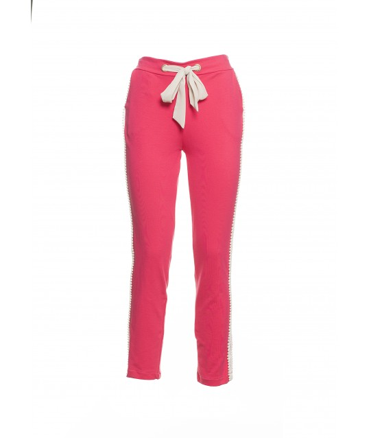 Trousers In Sweatshirt Fracomina