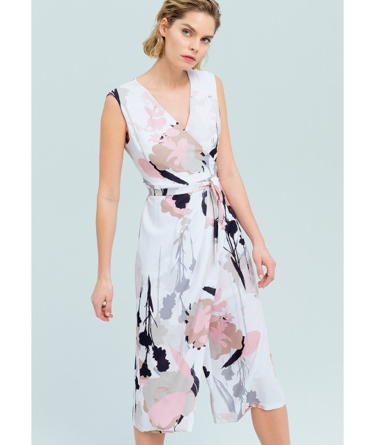 Suit In Floral Design Fracomina