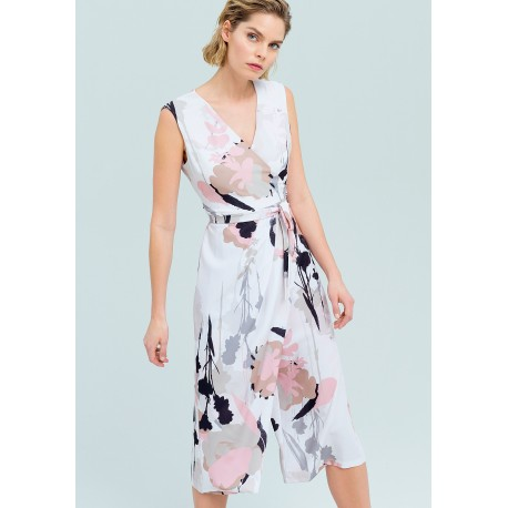 The Jumpsuit With A Floral Design Fracomina