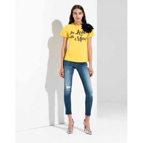T-Shirt Avec Impression Fracomina