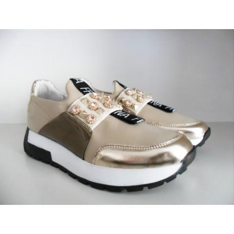Sneakers Con Applicazioni Fracomina