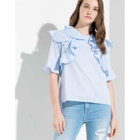 Top With Ruched Fracomina