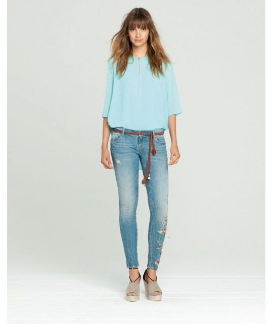 Jeans With Designs Fracomina