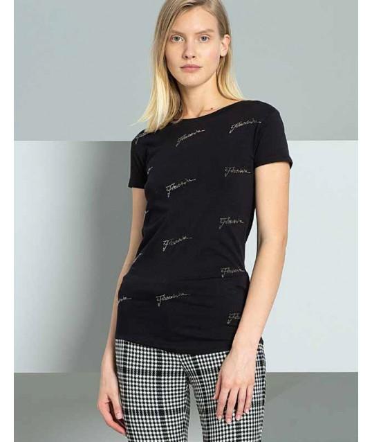 T-Shirt De Couleur Unie Fracomina