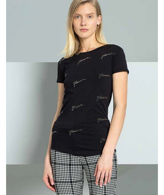 T-Shirt Solid Color Fracomina