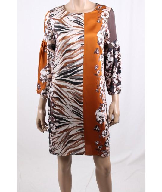 Dress, Bag: Sandro Ferrone