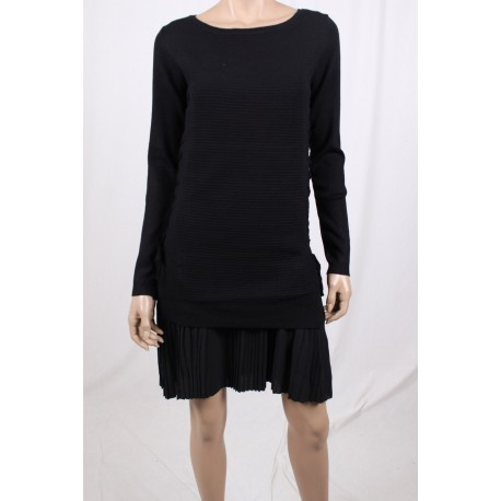 Dress With Pleated Fracomina
