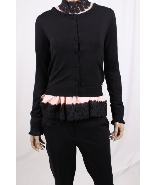 Cardigan Solid Color Fracomina