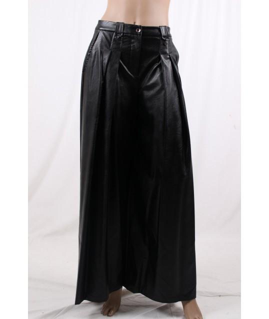 Pantalon En Cuir Fracomina
