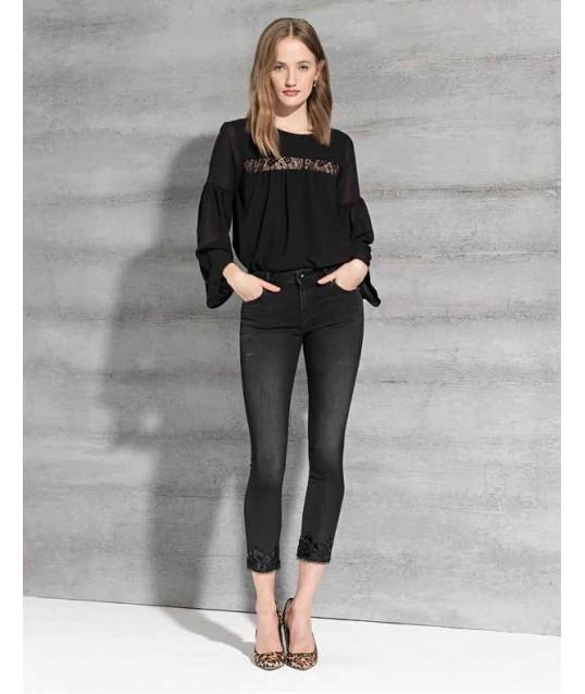 Jeans Con Applicazioni Fracomina