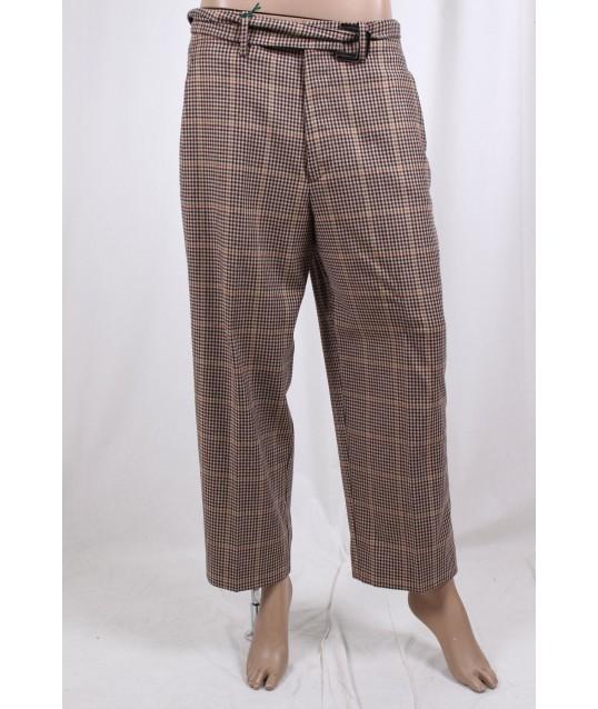 Pantalone Con Fantasia A Quadri Berwich