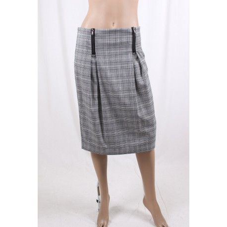 Skirt With Zips Fracomina