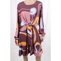 Dress With Fantasy Fracomina