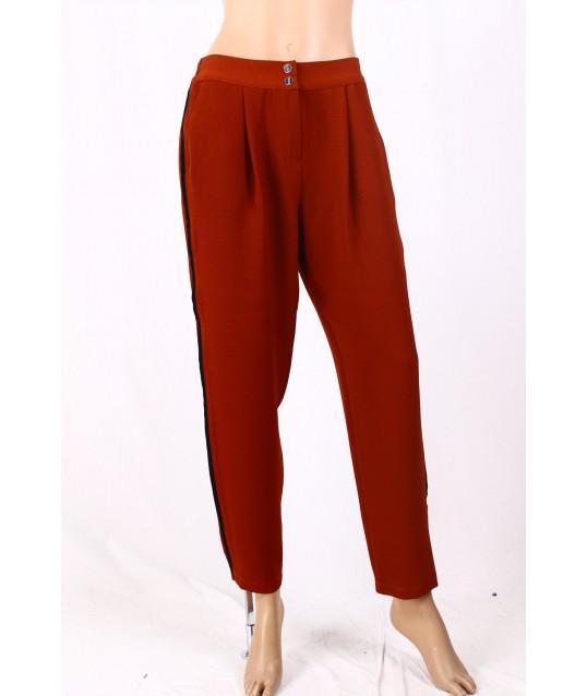 Pantalon De Couleur Unie Diana Gallois
