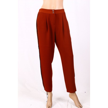 Pants Solid Color Diana Welsh