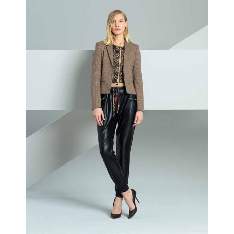 Leather Pants Fracomina