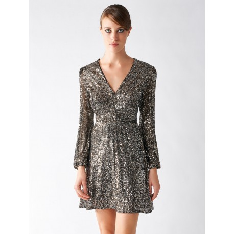 Dress With Sequins And Renaissance