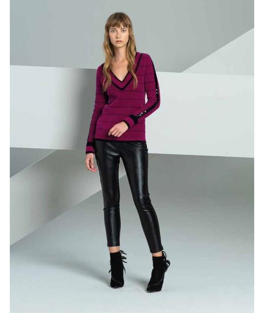 Leggings Leather Fracomina