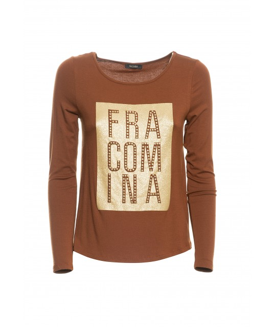 Maglia Con Logo Fracomina