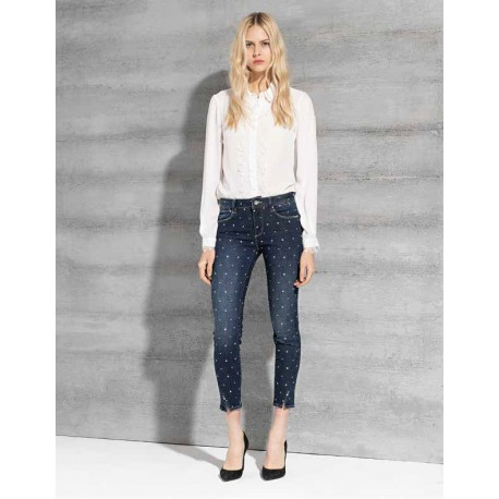 Jeans Avec Des Applications Fracomina
