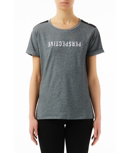 T-shirt Avec Impression et Liu Jo