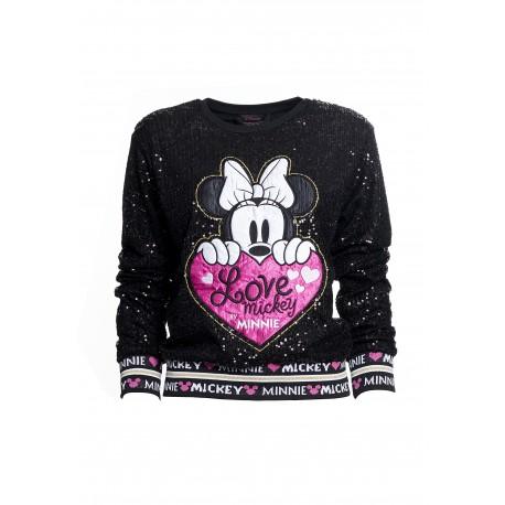Sweat-Shirt Love Mickey Fracomina
