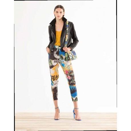 Pantalone Con Fantasia Fracomina