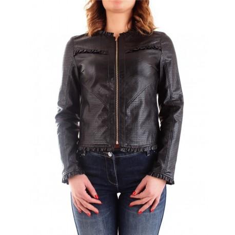 Jacket In Imitation Leather Fracomina