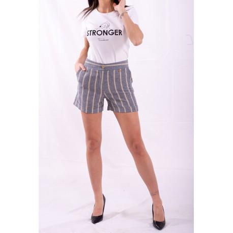 Shorts Con Righe Fracomina