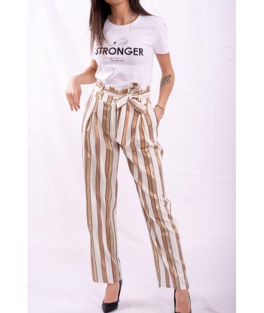 Trousers Striped Fracomina