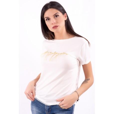 T-Shirt Avec Des Applications Fracomina
