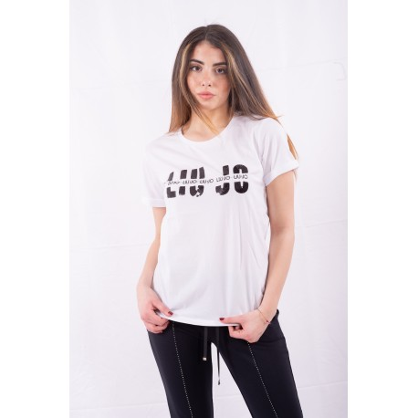 T-Shirt Avec Des Applications Liu Jo