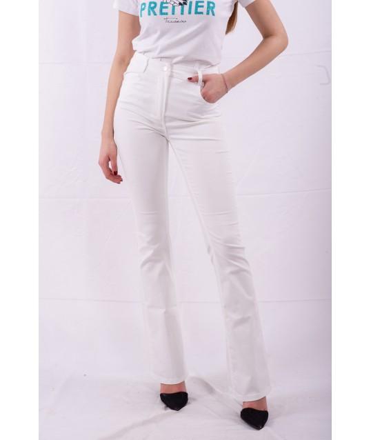 Le Pantalon Évasé De Couleur Unie Liu Jo