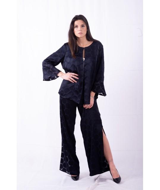 Pants With Fancy polka Dots Persona By Marina Rinaldi