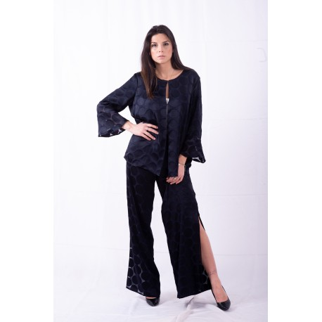 Pantalone Con Fantasia A Pois Persona By Marina Rinaldi