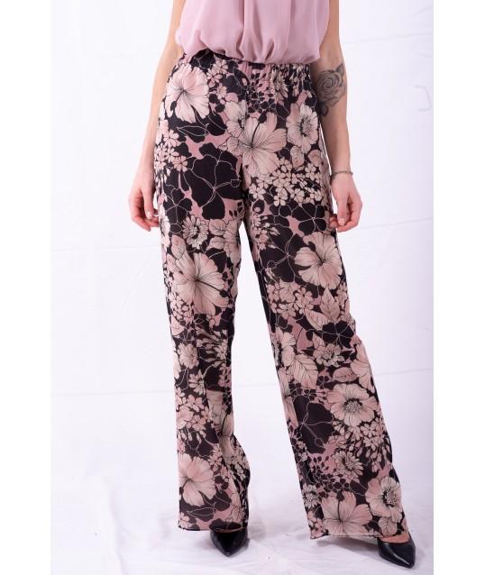 Pantalon Avec motif Floral Persona Par Marina Rinaldi